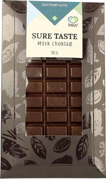 Sockerfri chokladkaka Mörk