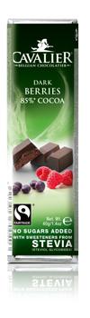 Chokladbar - Mörk choklad med bär