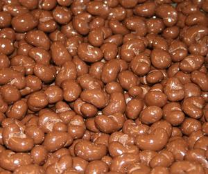 Cashewnötter i mjölkchoklad