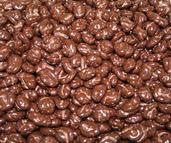 Tranbär i mörk choklad