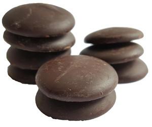 Chokladplattor, mörk 60%