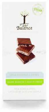 Chokladkaka  - Mjölkchoklad med kokos och krisp